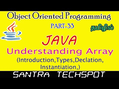 #33-|-java-beginners-tutorial-in-tamil-|-array-|-introduction-|-types-|-declaration
