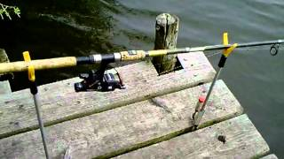 "Adapting ""y""-rod Rests For Platform/pontoon Fishing"