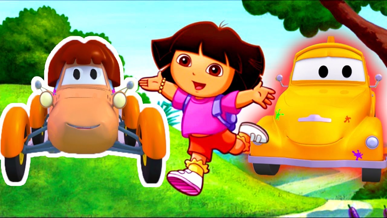 tom-the-tow-truck-s-paint-shop-katie-is-dora-the-explorer-truck-and-car-cartoons-for-kids