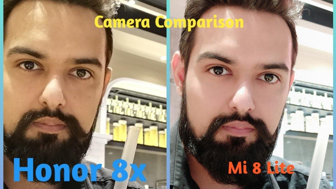 Mi 8 Lite vs Honor 8x Camera Comparison Part-1