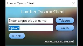 Roblox Lumber Tycoon 2 Teleport Hack Not Needed Level 7(Cant Patch)