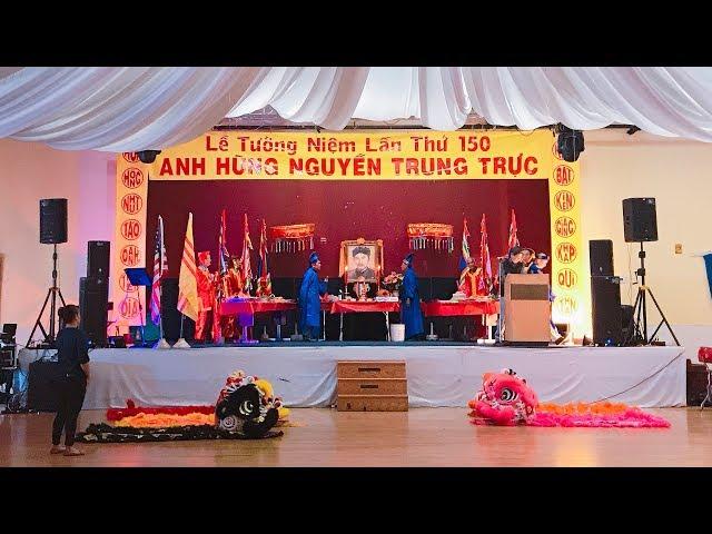 Lễ Tưởng Niệm Lần Thứ 150 Anh hùng Nguyễn Trung Trực