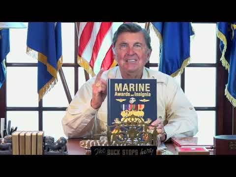 United States  Marine Corps Awards and Insignia book Review,