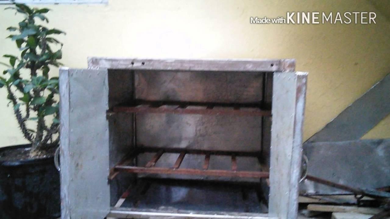 Como construir horno de gas para pizzas y carnes youtube for Como construir un horno