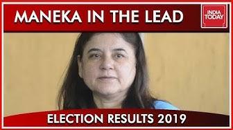 Maneka Gandhi Leads In Sultanpur   Result 2019