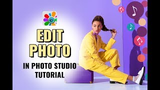 फोटो स्टूडियो में फोटो संपादित करें   फोटो हेरफेर   एंड्राइड ऐप   ट्यूटोरियल screenshot 1