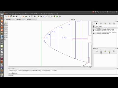 Experimenting and working around a problem in LibreCAD Design