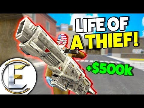 LIFE OF A THIEF! - Gmod DarkRP Life (How TO Raid Bases And Make Thousands)