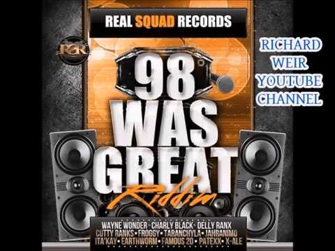 98 WAS GREAT RIDDIM (Mix-Mar 2017) REAL SQUAD RECORDS