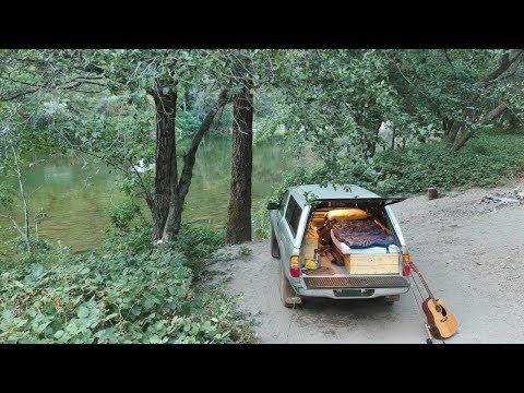 Truck Camping At A Secret California Campsite