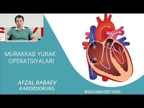 MURAKKAB YURAK OPERATSIYALARI / МУРАККАБ ЮРАК ОПЕРАЦИЯЛАРИ/ Кардиохирург Афзал Бабаев