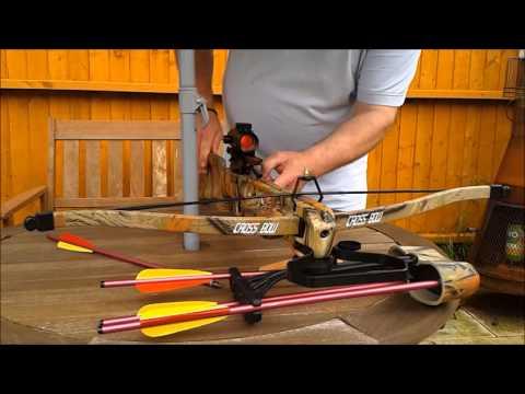 Bobcat 160lb Recurve Crossbow