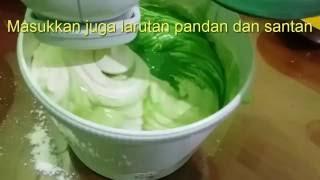 Resep membuat kue bolu pandan asli Mp3