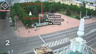 Замедленная видео съёмка авиа удара по ОГА Луганск(Наш канал собирает пожертвования для людей пострадавших в Украине в следствии гражданской войны. Всех..., 2014-06-03T03:28:05.000Z)