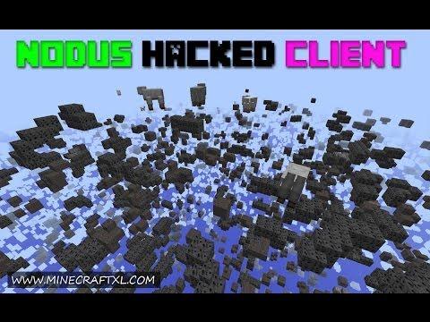 Nodus Hacked Client Download for Minecraft 1 8/1 7/1 6 (w/ OptiFine)