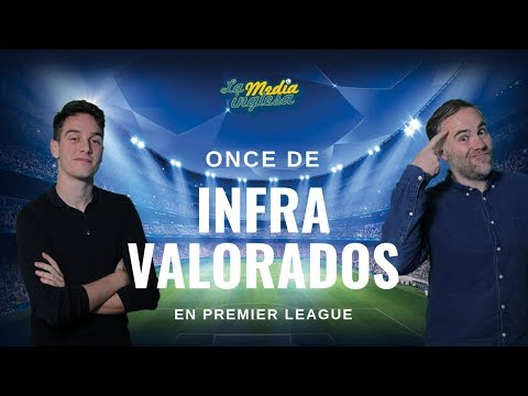 XI DE INFRAVALORADOS EN PREMIER LEAGUE