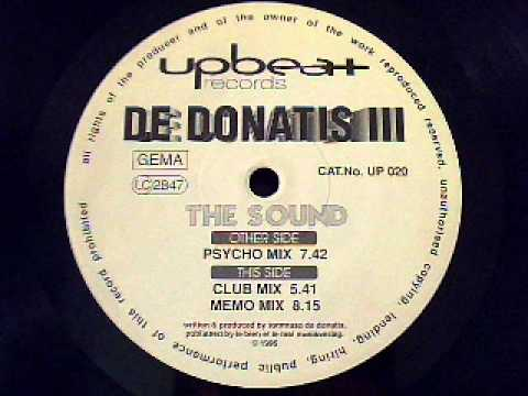 De Donatis - The Sound