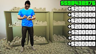 Become a Millionaire in less than a Couple of Hours in GTA Online Solo