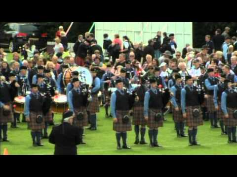 European Pipe Band Championships 2012 Part 2