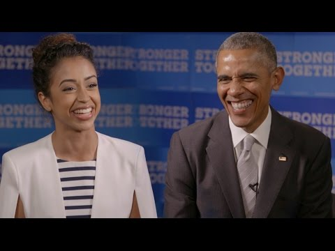 BARACK OBAMA INTERVIEWS LIZA KOSHY