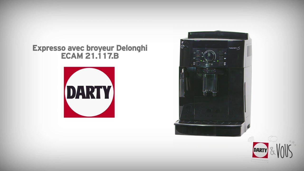 Expresso Avec Broyeur Delonghi Démonstration Darty