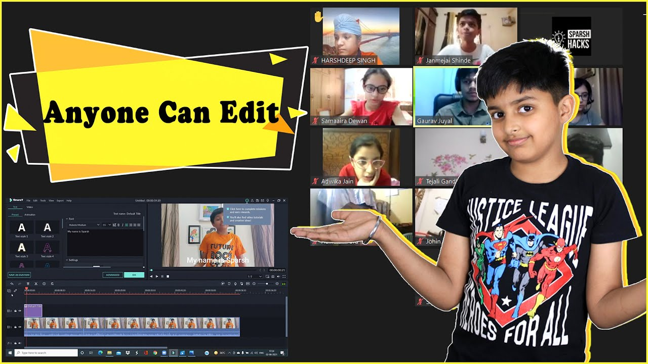 How to edit videos for Youtube? 10 kids learnt Video Editing in 5 days!  Register for Workshop NOW!