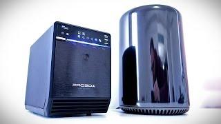 7TB Storage For The Mac Pro (Mediasonic Pro Box Unboxing + Setup)