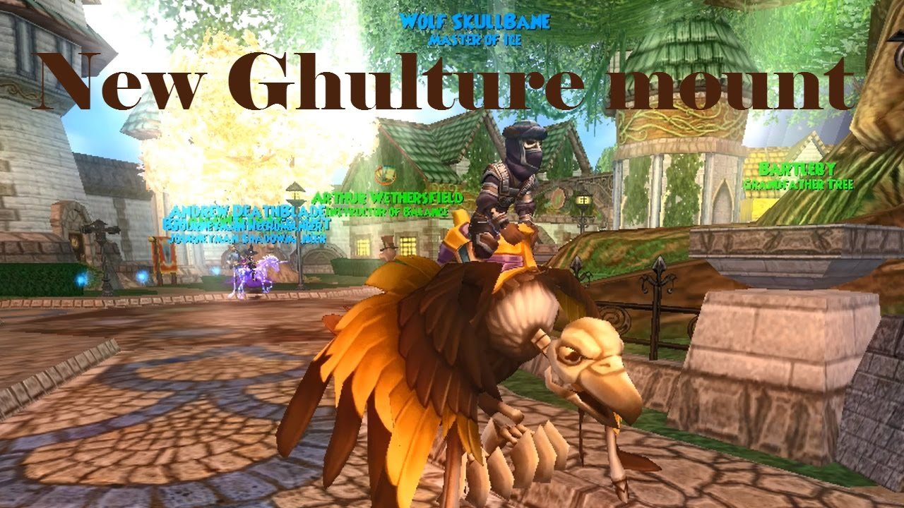 Wizard101: New Ghulture MOUNT!