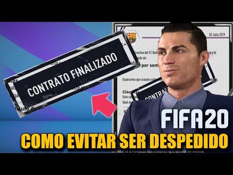 COMO EVITAR QUE TE DESPIDAN EN MODO CARRERA!!! (Truco Del Salario) - FIFA 20