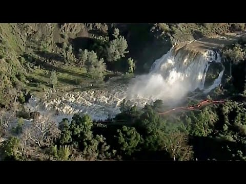 Santa Clara Valley Water District Lowers Level in Anderson Reservoir