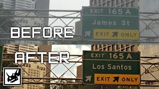 Grand Theft Auto V: Before & After