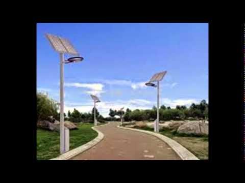 solar panels lights