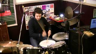 avenged sevenfold nightmare drum cover only one bass drum pedal hd 1080p