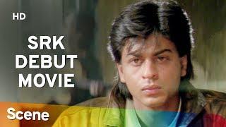 Shahrukh Khan love for Divya Bharti - Romantic Scene - Deewana - 90
