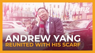 Andrew Yang Reunited with His Scarf