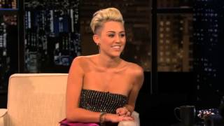 Miley Cyrus on Chelsea Lately (17th october 2012)