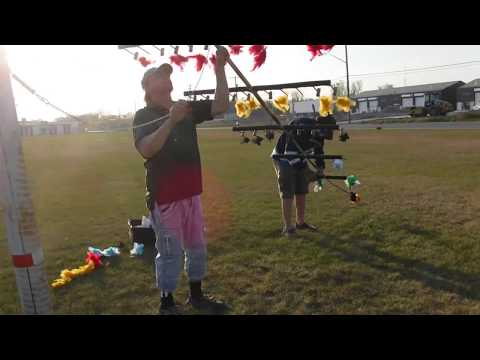 loading  the fork, may 16 2018,robin hood pole archery