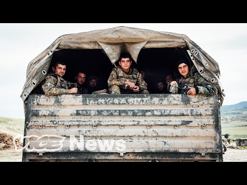 On the Frontlines of the Fighting in Azerbaijan