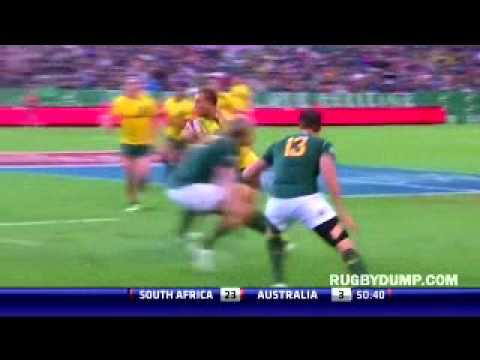 Cheslin Kolbe vs Quade Cooper
