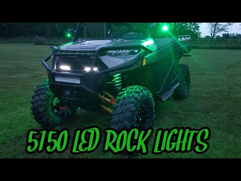 Polaris Ranger XP 1000 | How to install Six 5150 LED Rock lights!