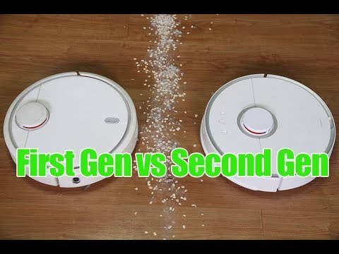 Xiaomi First Vs Second Gen S50 RoboRock Comparison And Review