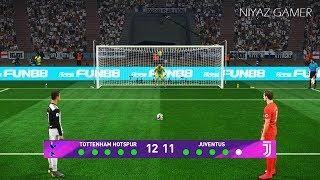 Tottenham vs Juventus | Penalty Shootout | PES 2019 Gameplay PC