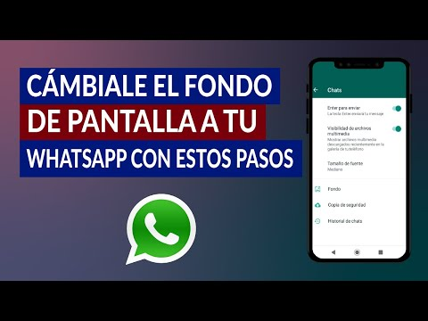 Cámbiale el Fondo de Pantalla a tu WhatsApp con estos Sencillos Pasos