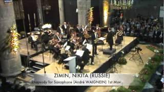 A. Waignein: Rhapsody 1 mov. – Nikita Zimin (Dinant)