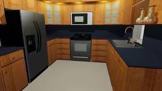 A Really Nice Kitchen in AutoCAD