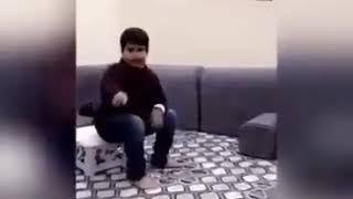 طفل نصراوي يتحدى و يكسب التحدي  النصر الاتفاق 3-2