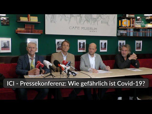 ICI - Pressekonferenz: Wie gefährlich ist Covid-19? - YouTube