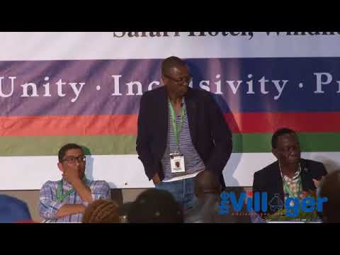 The SWAPO Party 6th Congress results announcement event.