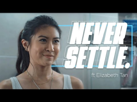 Never Settle - Feat Elizabeth Tan