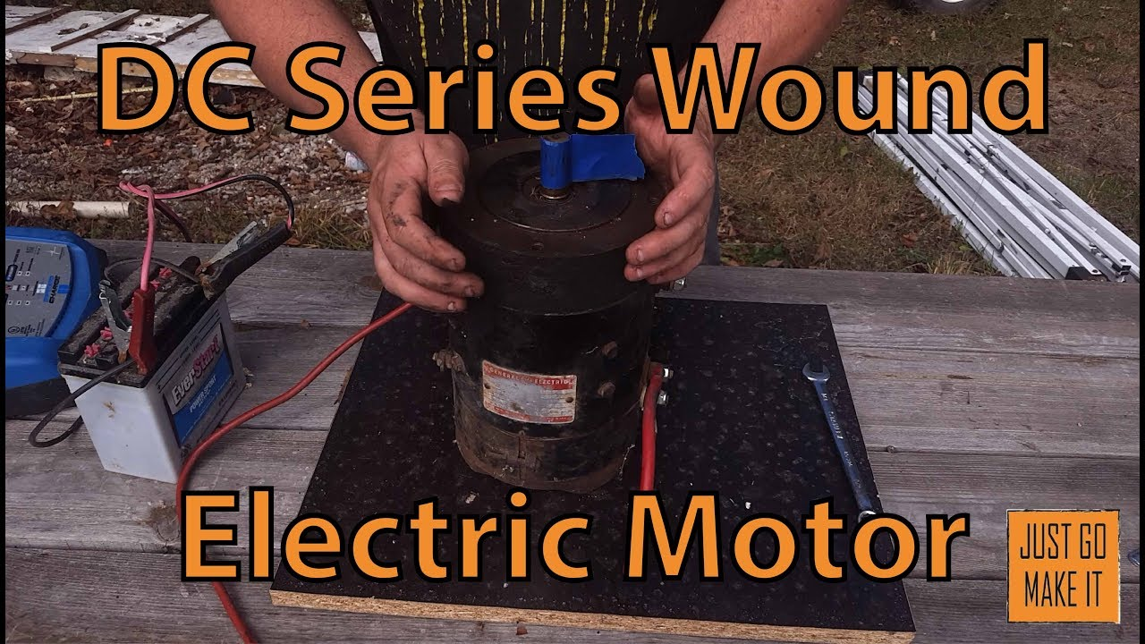 dc series wound motor wiring and reversing [ 1280 x 720 Pixel ]